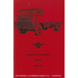 Instruktieboek DAF Serie...
