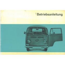 Betriebsanleitung VW...