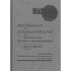 Betriebsanleitung Büssing...
