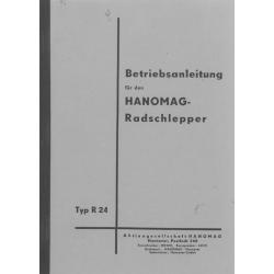 Betriebsanleitung Hanomag R 24