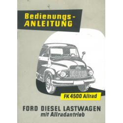 Bedienungsanleitung Ford FK...