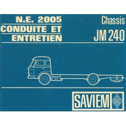 Conduit et Entretien Saviem...