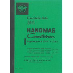 Hanomag Combitrac R 324...