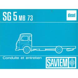 Saviem SG 5 MB 73, Lkw,...