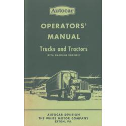 Autocar Trucks and Tractors...