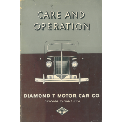 Care and Operation Diamond T