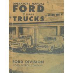 Manual 1951 Ford Trucks...