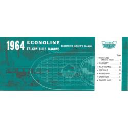 Manual 1964 Ford Econoline...