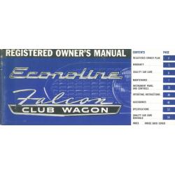 Manual 1966 Ford Econoline...