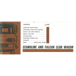 Manual 1967 Ford Econoline...
