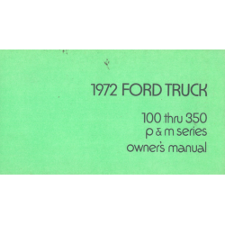 Ford Truck 100 / 350 P &...