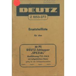 Deutz F 2L 514/4, 30 PS...