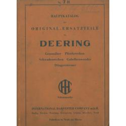 Deering-Landmaschinen...