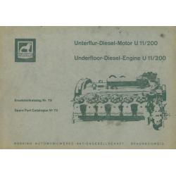 Büssing Motor U 11/200,...