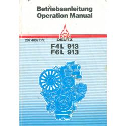 Betriebsanleitung Motor F4L...