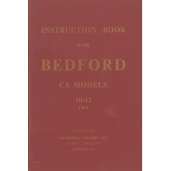 Bedford CA, Instruction...