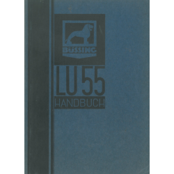 Büssing LU 55, Handbuch...