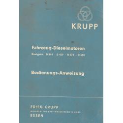 Krupp Dieselmotoren D 344 /...