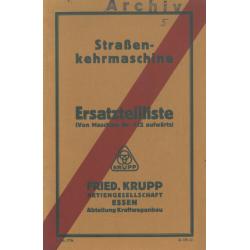 Krupp Straßenkehrmaschine,...