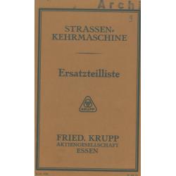 Krupp-Straßenkehrmaschine...