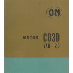 OM Motor CO 3 D Var. 20,...