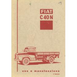 Uso e manutenzione Fiat C...