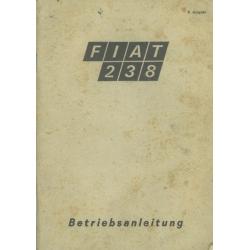 Betriebsanleitung Fiat 238,...