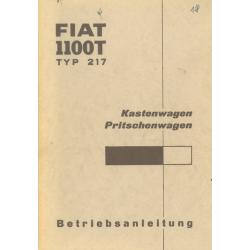 Betriebsanleitung Fiat 1100...
