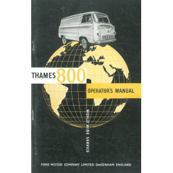 Manual Ford Thames 800,...