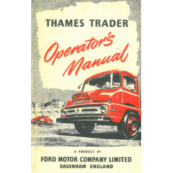 Manual Ford Thames Trader...
