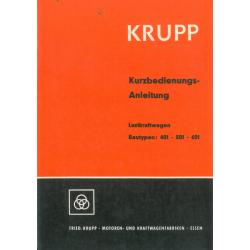 Krupp 401 / 501 / 601...