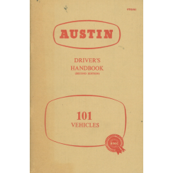 Austin 101, Driver's...