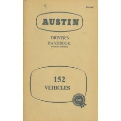 Austin 152, Driver's...