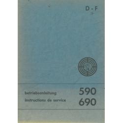 Betriebsanleitung Steyr 590...