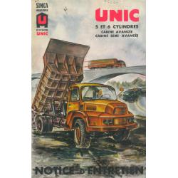 Unic 5 et 6 cylindres,...