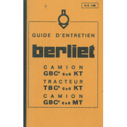 Berliet GBC 8 / TBC 8 6x6...