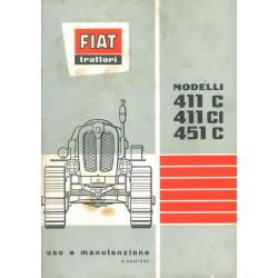 Fiat 411 C/CI/451 C Raupe,...