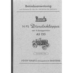 Bautz 14 PS-Dieselschlepper...
