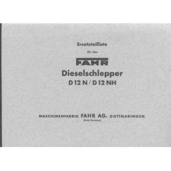 Fahr D 12N/NH...