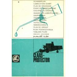 Claas Protector Schmierplan