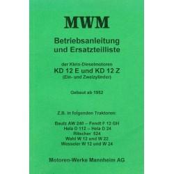 MWM KD 12 E und KD 12 Z...