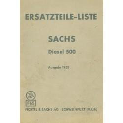 Sachs Diesel 500...