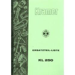 Kramer KL 250...