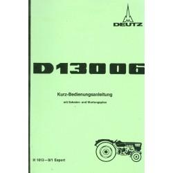 Deutz D 13006...
