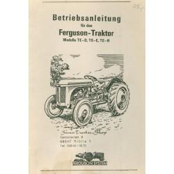 Ferguson TE-D/Te-E/TE-H...