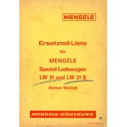 Mengele Ladewagen LW 31/31S...