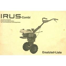 Irus Combi Ersatzteilliste