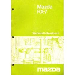 Mazda RX-7 Werkstatthandbuch