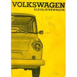 VW Kleinlieferwagen...