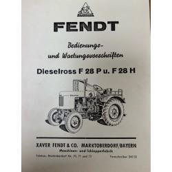 Fendt Dieselross F 28 P/H...